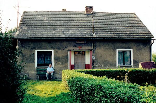 Rodzinny dom Adolfa Dygacza w Droniowicach